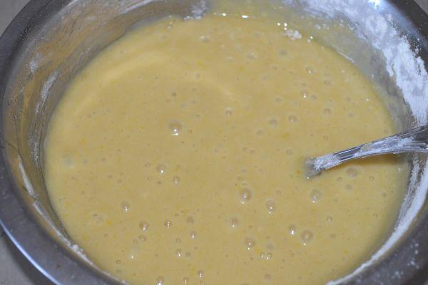 смесь ингредиентов для приготовления десерта
