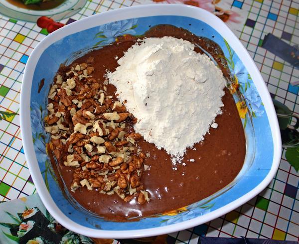 приготовление шоколадного брауни