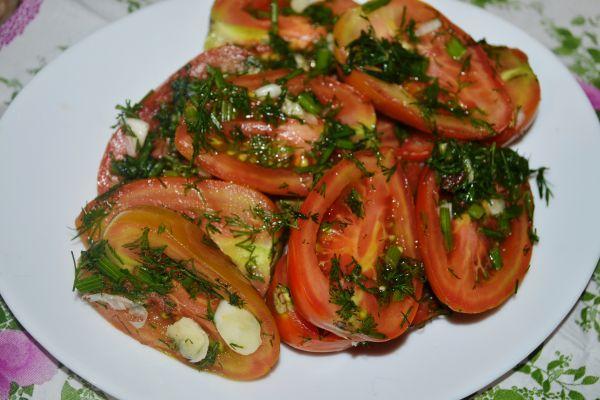 помидоры малосольные