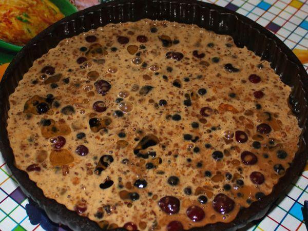 пирог клафути