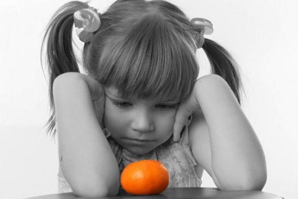 пищевая аллергия у ребенка на цитрусовые