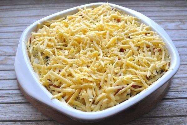 сыр на запеканке