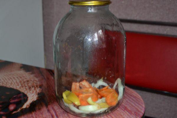 овощи в таре