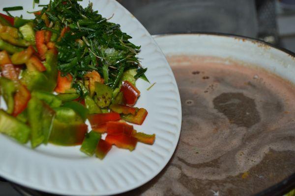 овощи и зелень для супа