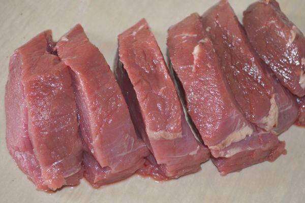 кусочки говядины