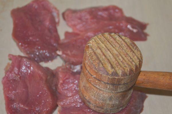 отбивание говядины