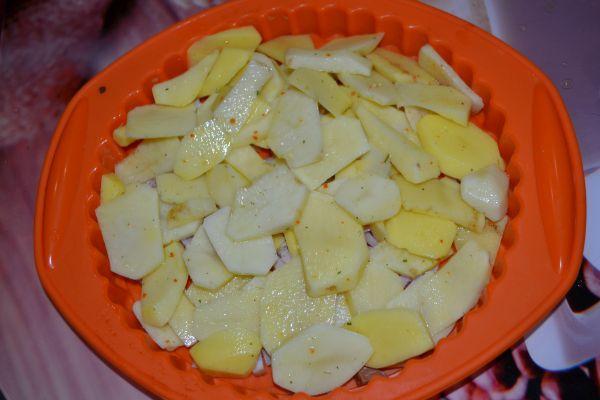 приготовление картофельной запеканки
