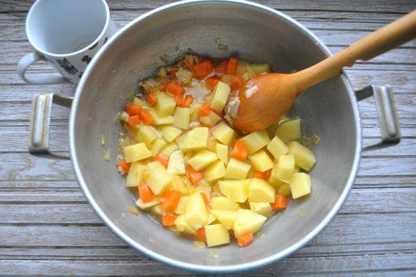 приготовление овощного супа