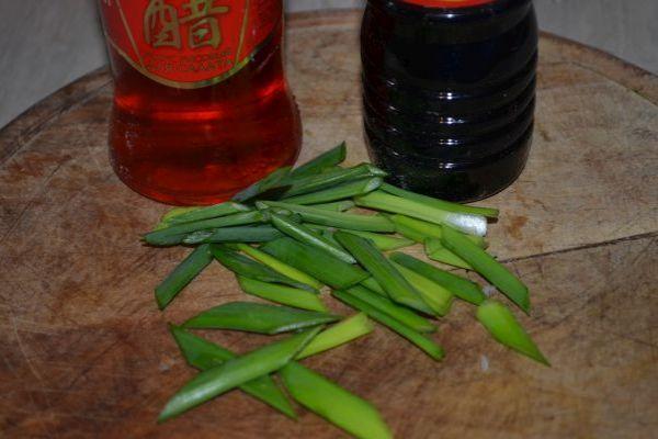 соевый соус с уксусом и луком