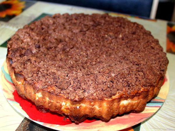 творожный пирог торфяной