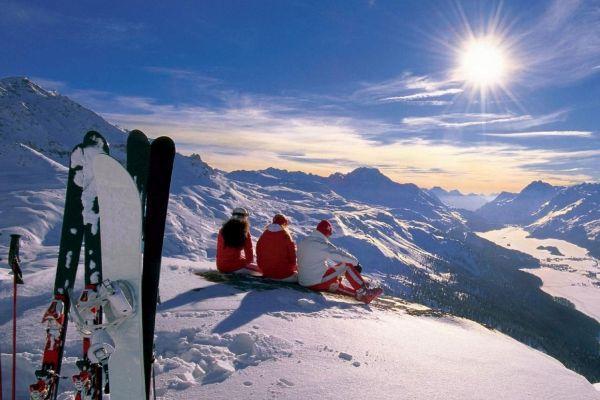 горнолыжный курорт в Италии
