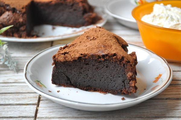 домашний шоколадный торт с какао