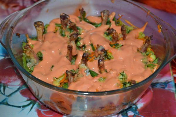 куриные крылышки бон-бон в кисло-сладком соусе