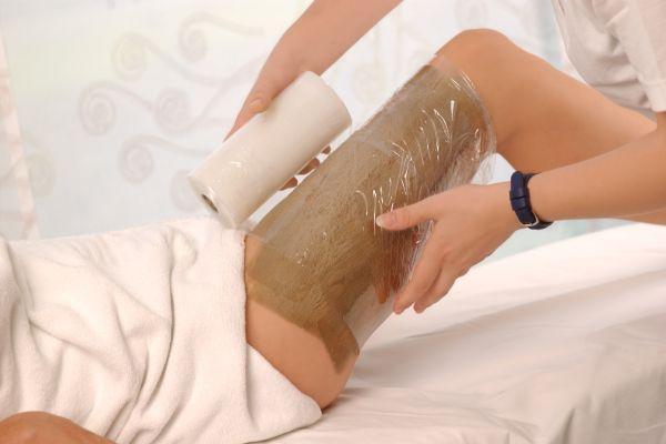обертывание ног для похудения