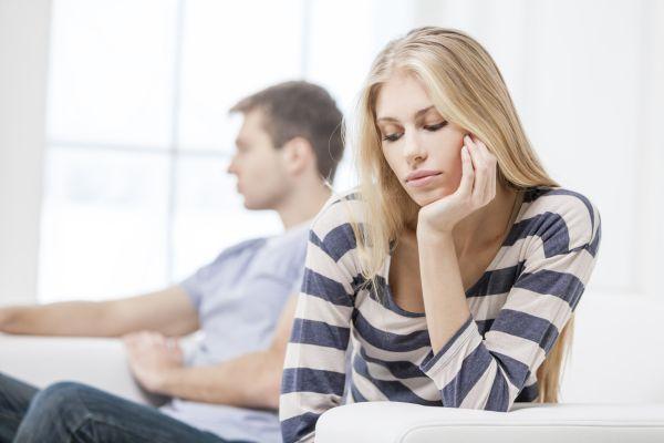отсутствие общения между супругами