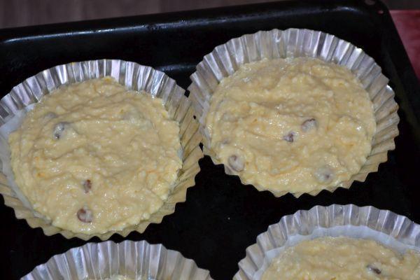 заготовки для кексов в формочках