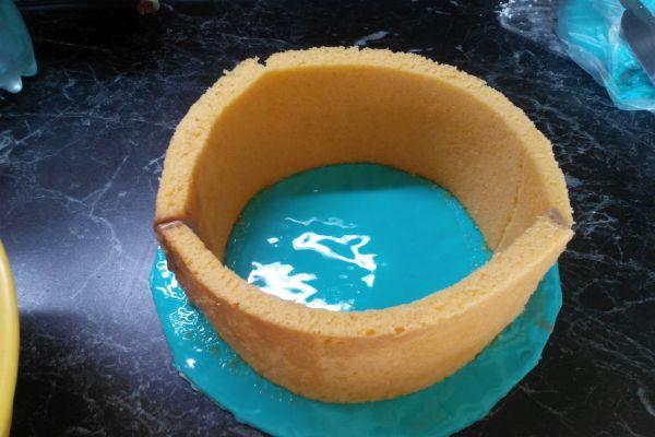 приготовление торта с мастикой