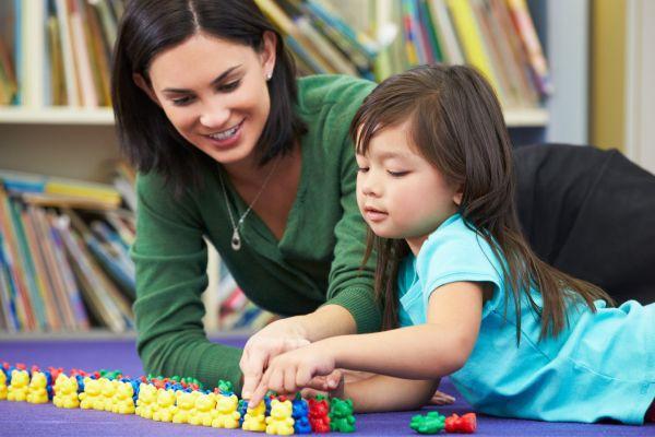 обучение ребенка цифрам и счету