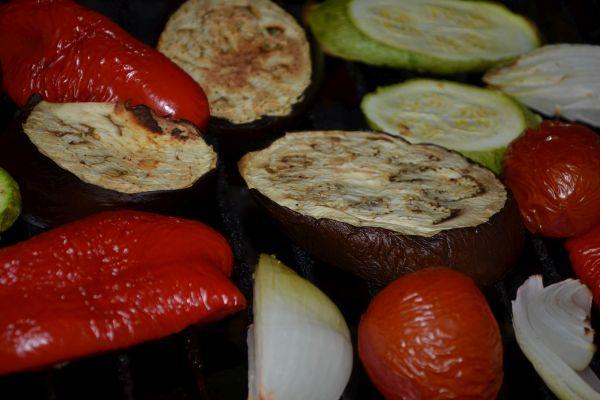 овощи после духовки