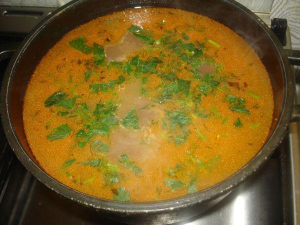 приготовление супа из красной фасоли
