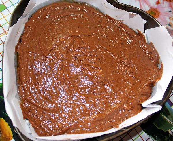 приготовление шоколадного пирога