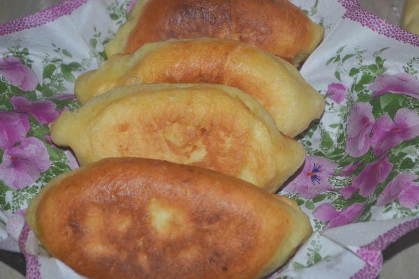 Пирожки с яйцом и зеленым луком пошаговый рецепт с