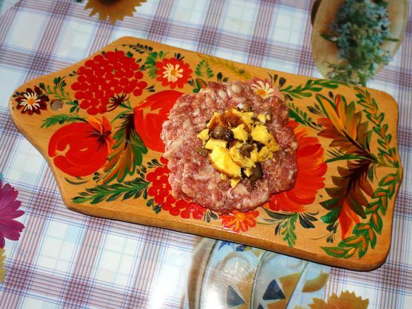 приготовление мясного клубочка