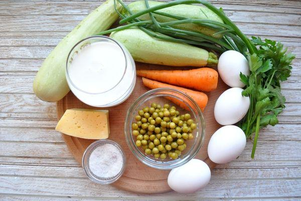 ингредиенты для фриттаты