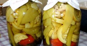 Заготовки на зиму: овощное ассорти