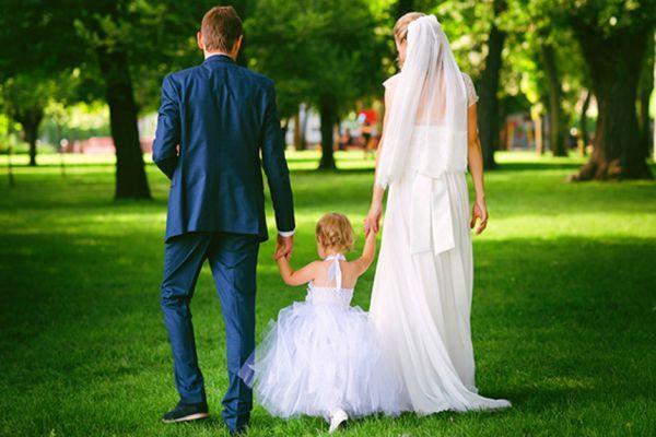 выйти замуж с маленьким ребенком