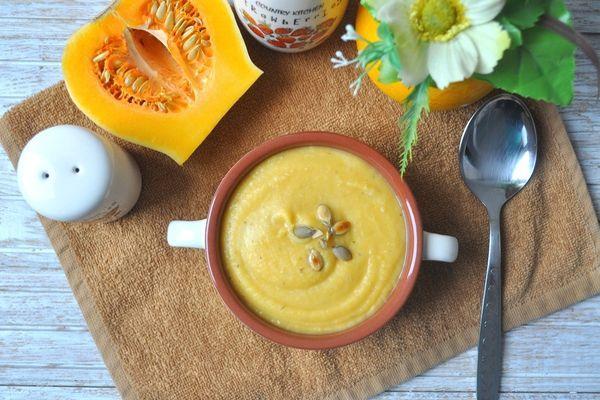 крем суп с тыквой