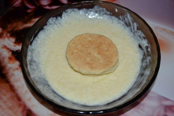 сметанное печенье в креме