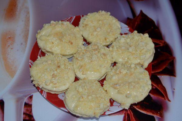 печенье на сметане с крошкой