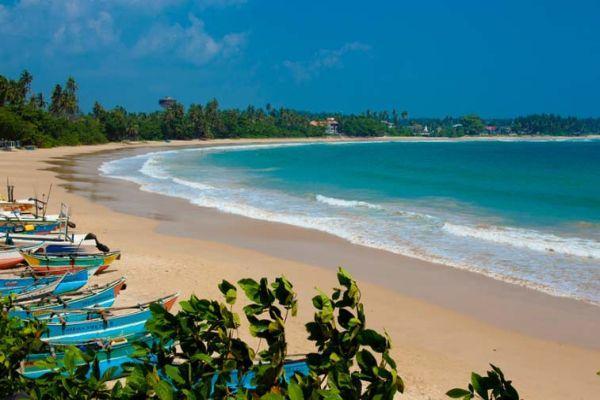 пляж в шри ланке