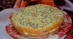 сметанно-творожный торт