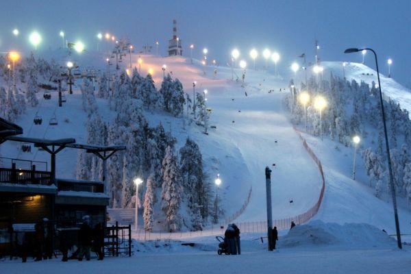 горнолыжный курорт в Финляндии