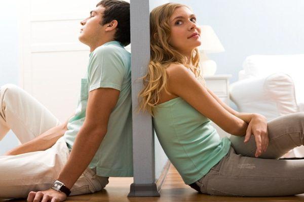 натянутые отношения с мужем