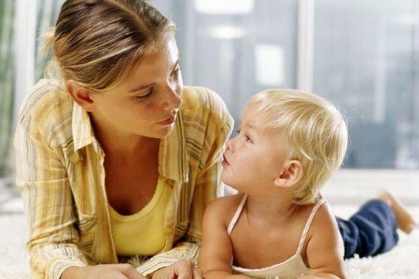 ребенок начинает говорить