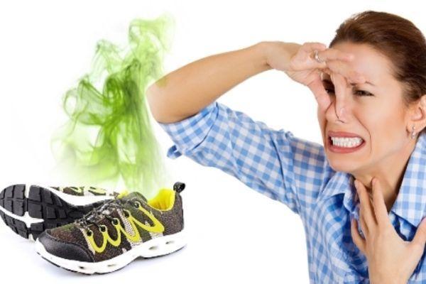неприятный устойчивый запах из обуви