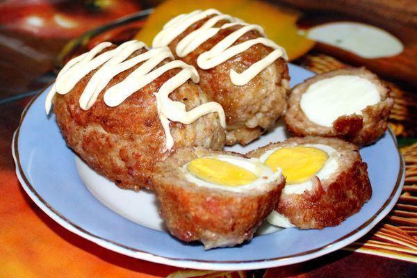 Яйца по – шотландски