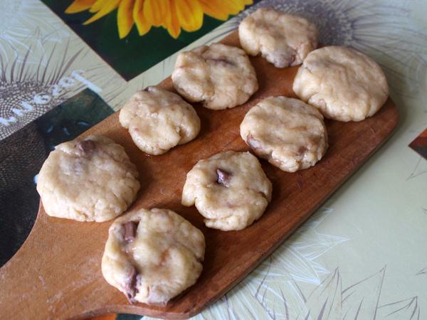 заготовки для домашнего песочного печенья