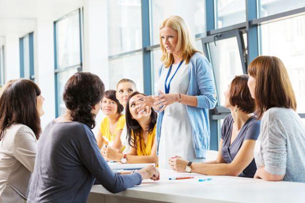 занятия на женских курсах