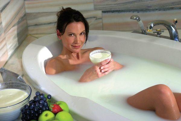 ванна с молоком