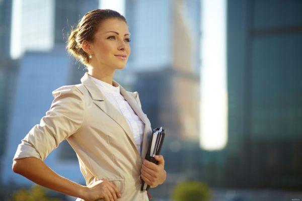 деловой стиль в одежде у девушки