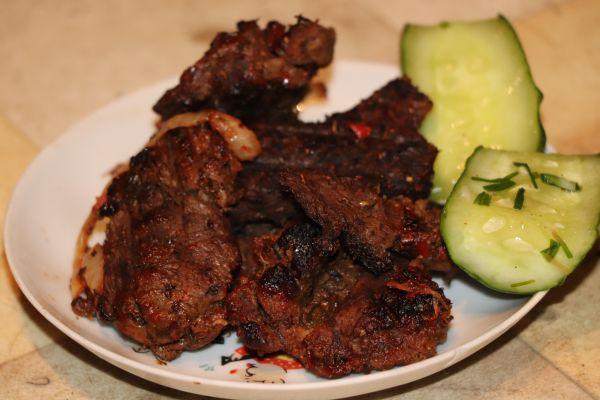 сочный и вкусный шашлык из баранины