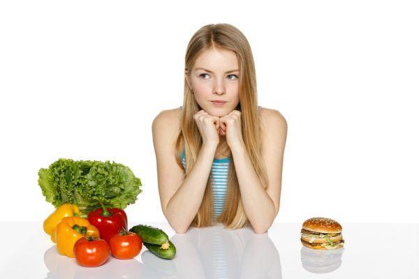 выбор пищи на ужин