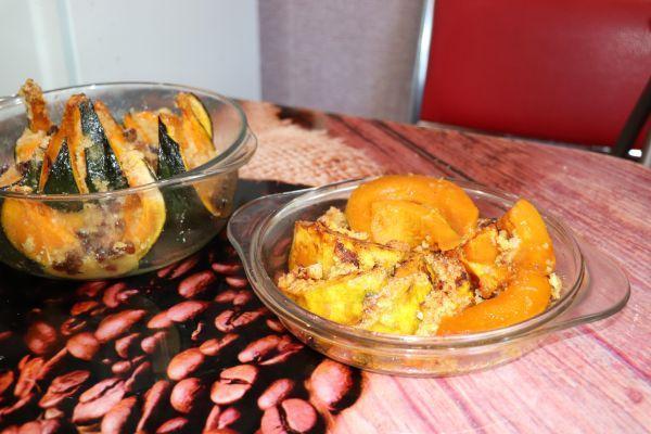 десерт из кусочков тыквы