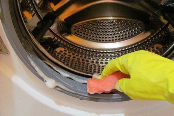 чистка стиральной машинки подручными средствами