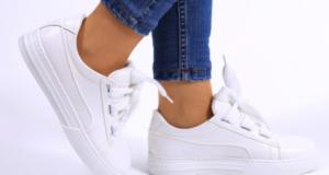 как почистить белую подошву на кроссовках