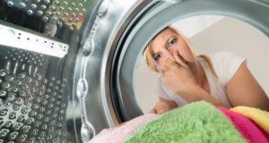неприятный запах из стиральной машинки автомат